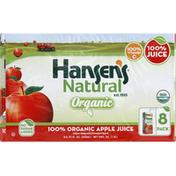 Hansen's Natural Apple Juice, 100% Organic