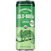 Chameleon COLD-BREW Organic Unsweetened Black Smooth Black Coffee