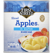 First Street Apples, in Water, Sliced