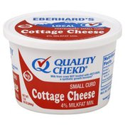 Quality Chekd Cottage Cheese, Small Curd, 4% Milkfat