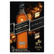 Johnnie Walker Black Label Blended Scotch Whisky with Gold Label Reserve Blended Scotch Whisky and Double Black Label Blended Scotch Whisky
