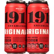 1911 Established Hard Cider, Premium Small Batch, Original