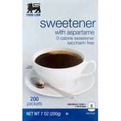 Food Lion Sweetener, with Aspartame, Box