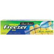 Best Choice Zip Freezer Bags