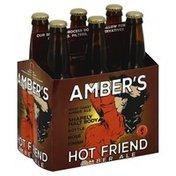 Skookum Brewery Amber Ale, Amber's Hot Friend, 6 Pack, Multipack