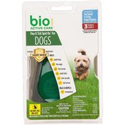 Bio Spot Active Care Flea & Tick Spot On For Dogs Includes Applicator
