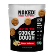 Naked Bread Frozen Cookie Dough Ginger Molasses