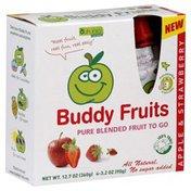 Buddy Fruits Apple & Strawberry
