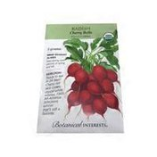 Botanical Interests Organic Cherry Belle Radish Seeds