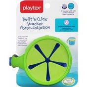 Playtex Twist n Click Flip Top Snacker