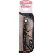 Clear Readers Eyeglasses, +2.75