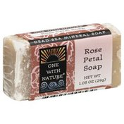One With Nature Soap, Rose Petal
