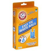 Arm & Hammer Waste Bags, Easy Tie, Fresh Scent