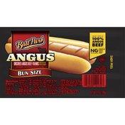 Ball Park Angus Beef Hot Dogs, Bun Size