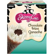 Skinny Cow Chocolate Mint Ganache Ice Cream Cones