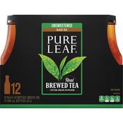 Pure Leaf Unsweetened Black Tea Real Brewed Tea