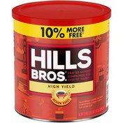 Hills Bros. High Yield Medium Roast Ground Coffee