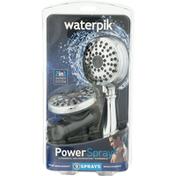 Waterpik Shower Head, 9 Sprays