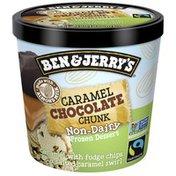 Ben & Jerry's Non-dairy Frozen Dessert Caramel Chocolate Chunk