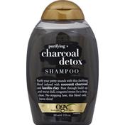 OGX Shampoo, Purifying + Charcoal Detox