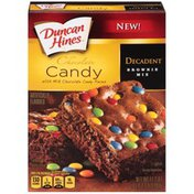 Duncan Hines Decadent Chocolate Candy Brownie Mix