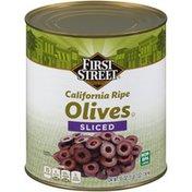 First Street Sliced California Ripe Olives