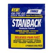 Stanback Headache Powder Stick Packs