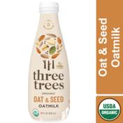 Three Trees Organic Oat & Seed Oat Milk