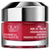 Olay Ultra Rich Face Moisturizer, Fragrance-Free, Trial Size
