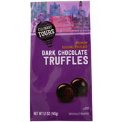Culinary Tours Dark Chocolate Premium Belgian Chocolate Truffles