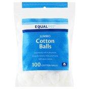 Equaline Cotton Balls, Jumbo