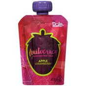 Dole Fruitocracy Apple Strawberry Squeezable Fruit