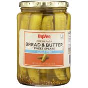 Hy-Vee Bread & Butter Sugar Free Sweet Spears