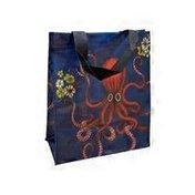 """Blue Q 9"""" x 7"""" Octopus Handy Tote Bag"""