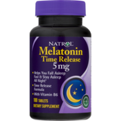Natrol Melatonin TR Time Release 5 mg