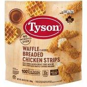 Tyson Waffle Flavored Breaded Chicken Strips, 48 oz. (Frozen)