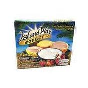 Island Way Sorbet Sorbet In Fruit Shells