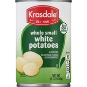 Krasdale Potatoes, White, Whole Small