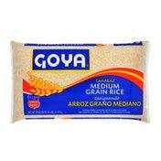 Goya Medium Grain Rice, Enriched