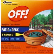 Off! Mosquito Coil III Refills, Patio & Deck, Country Fresh Scent