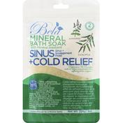 Bela Mineral Bath Soak, Sinus + Cold Relief