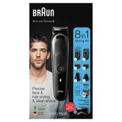 Braun Mgk5260 8-In-1 Body Grooming Kit, Body Groomer, Beard Trimmer And Hair