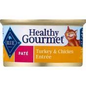 Blue Buffalo Cat Food, Turkey & Chicken Entree, Pate