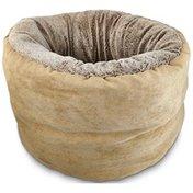 "Petco Deep Brown Restful Cuddler Cat Bed 18"" W X 12"" L"