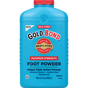 Gold Bond Foot Powder, Maximum Strength, Medicated