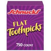 Schnucks Flat Toothpicks
