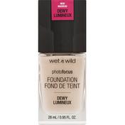 wet n wild Foundation, Dewy Lumineux, Shell Ivory 1111518