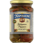 Napoleon Co. Jalapeno Peppers, Sliced, Tricolor