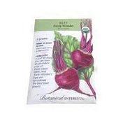 Botanical Interests Organic Early Wonder Beet Seeds