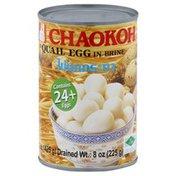 Chaokoh Quail Egg, in Brine